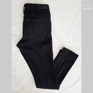 AG Adriano Goldschmied Black Skinny Jeans